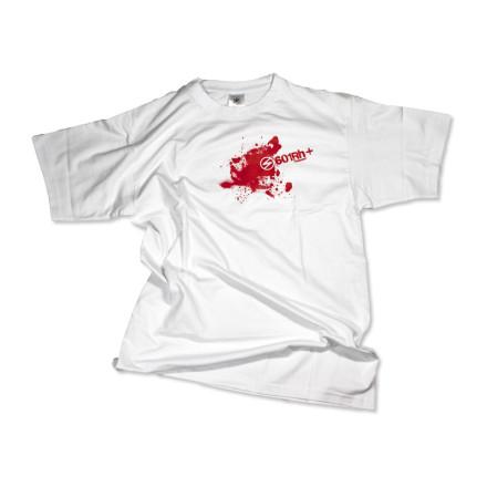 601Rh+ T-shirt męski biały rozmiar M