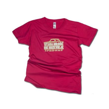 Stara miłość T-shirt damski pink rozmiar S